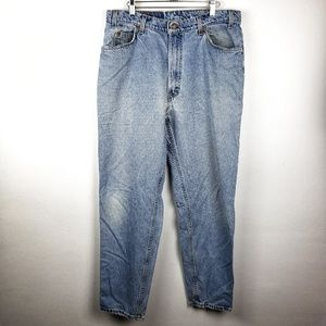 Levis | 560 Mom Jeans Loose Fit Orange Tab 38x34